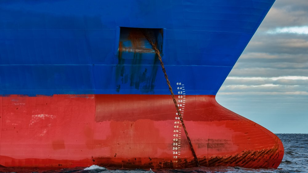 Cargo Vessel, Red Paint