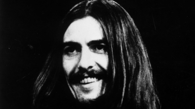 George Harrison smiling