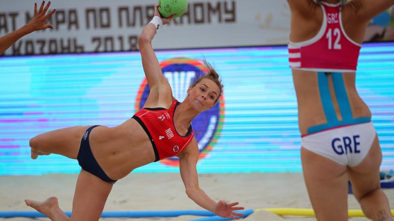 Norwegian beach handball team