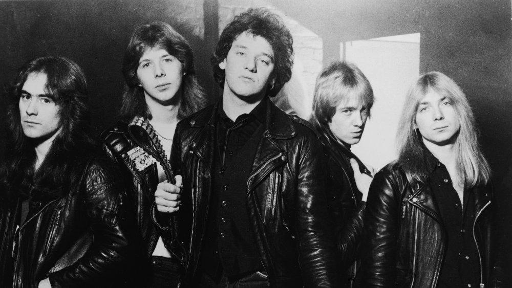 Iron Maiden with Paul Di'Anno