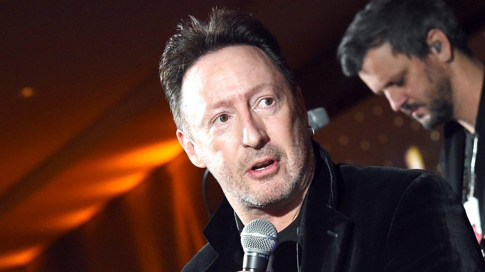 A profile shot of Julian Lennon