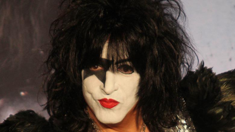 Paul Stanley in KISS makeup