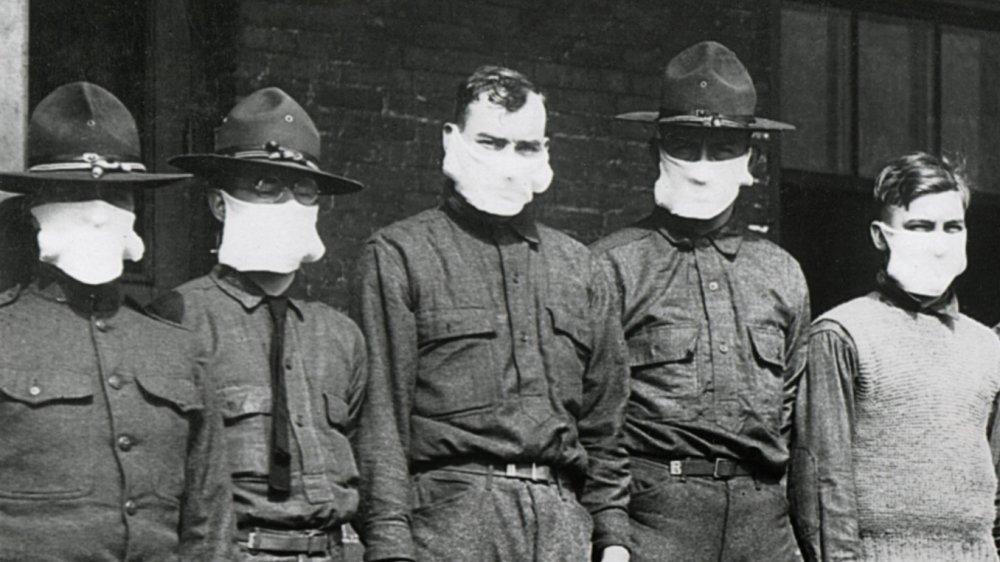 1918 flu masks