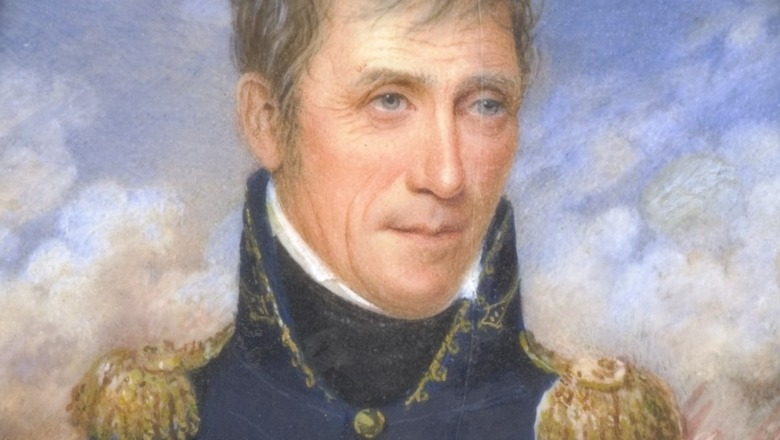 Miniature of General Andrew Jackson
