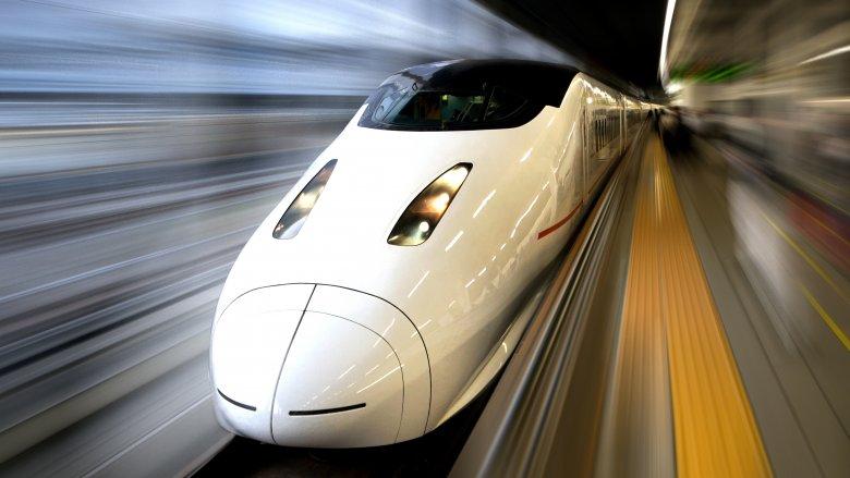 bullet train high-speed rail