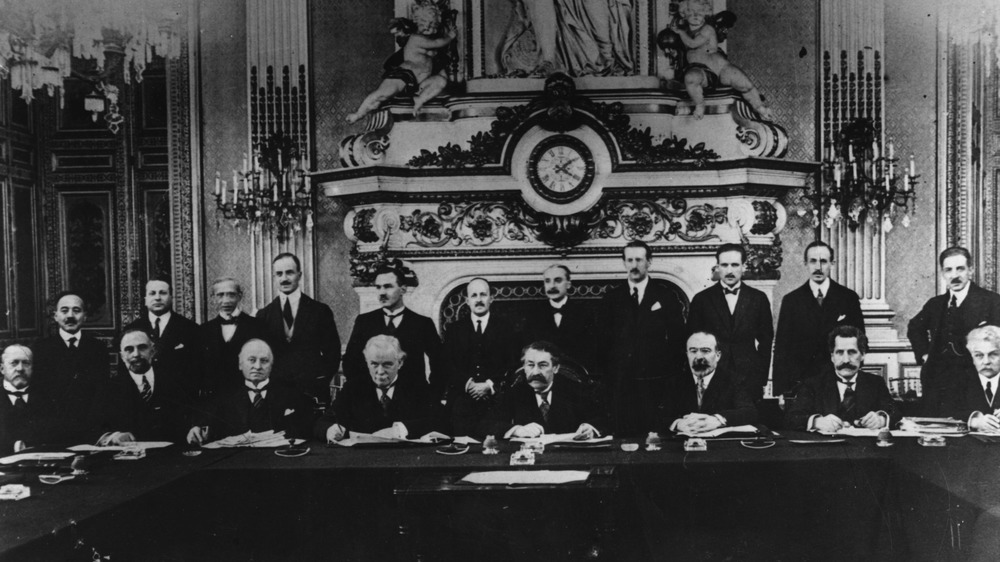 Allied members, the Paris Peace Conference