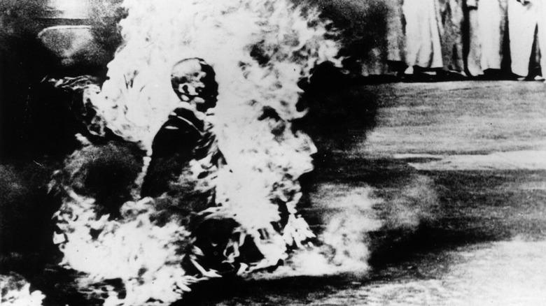 Thích Quảng Đức self-immolation