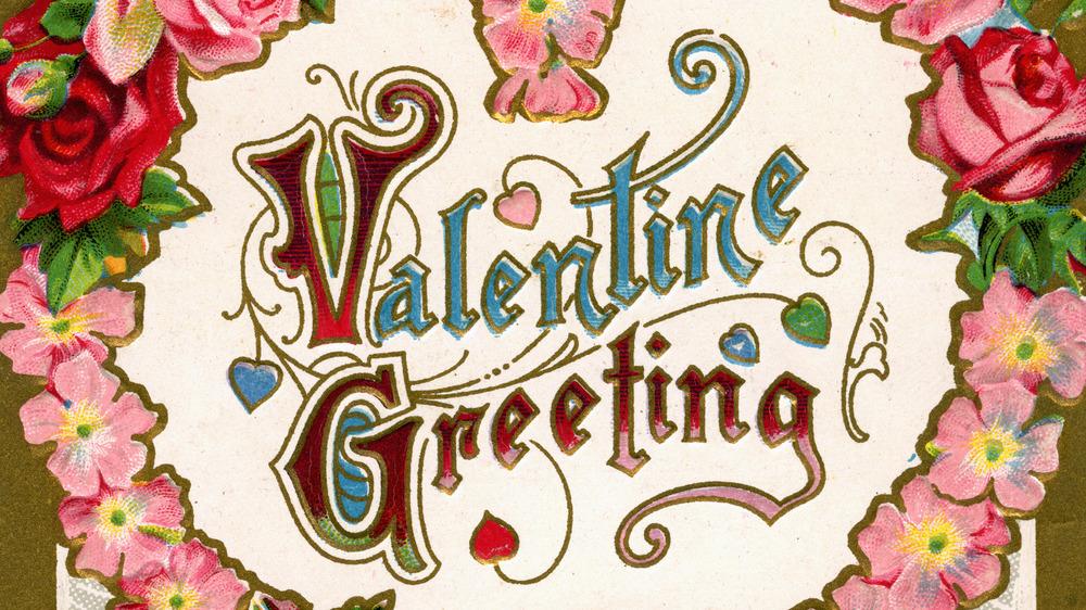 Victorian Valentine, 1910s