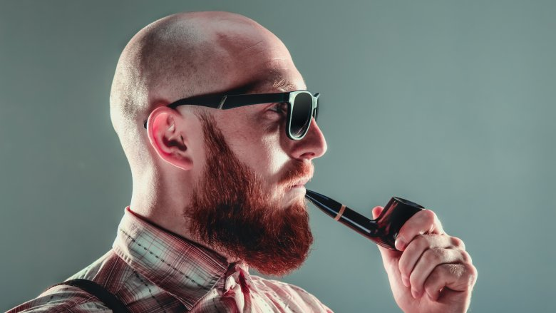 irish man with red beard