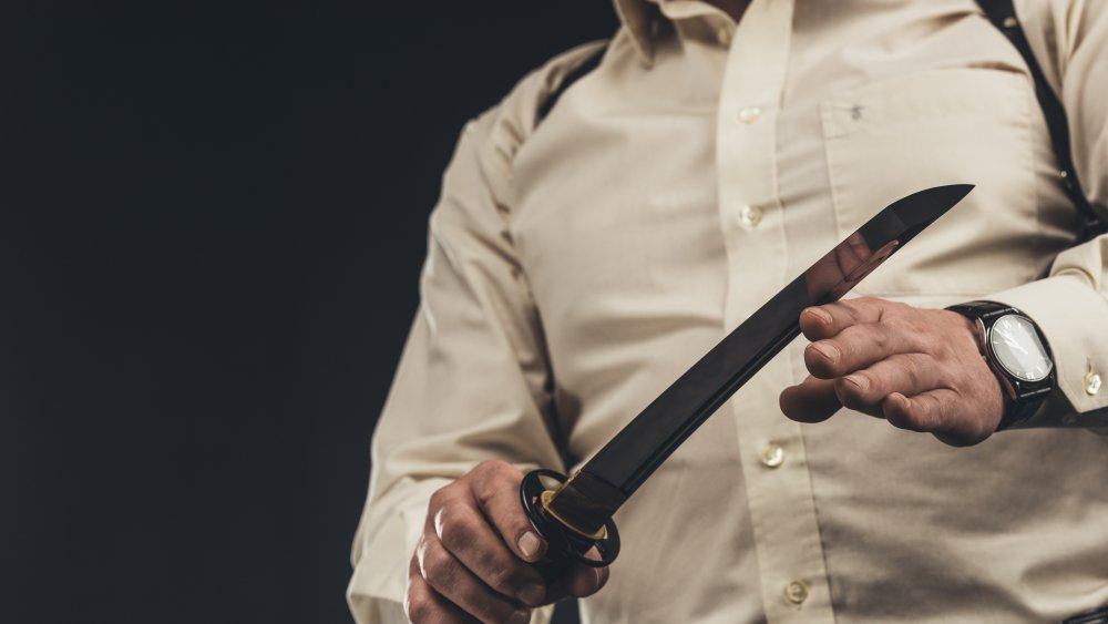 yakuza knife finger
