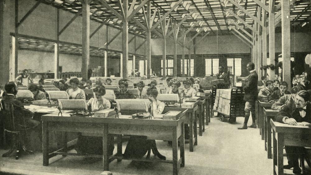 Tabulating 1901 census