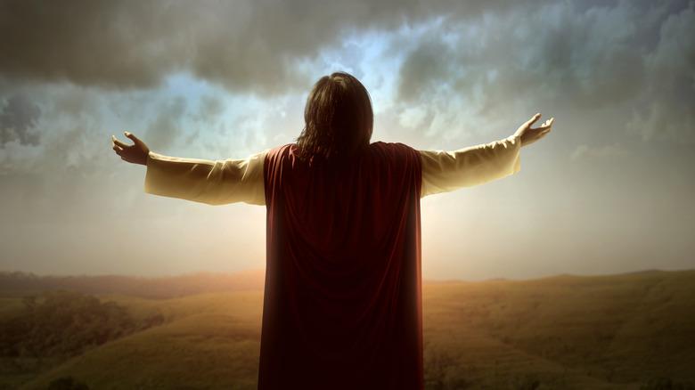 artistic image of jesus