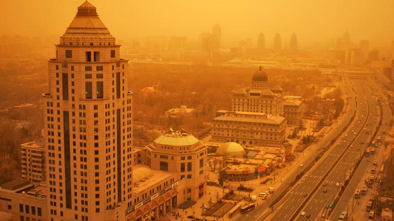 Beijing's sandstorm