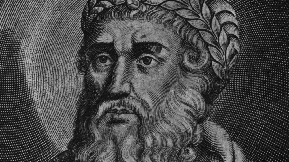 King Herod ink drawing