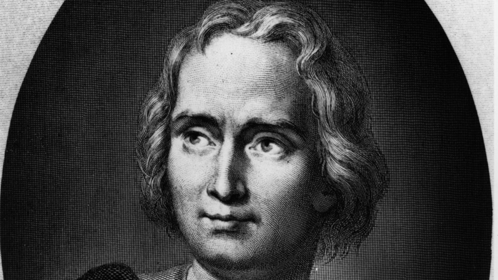 Engraving of Christopher Columbus
