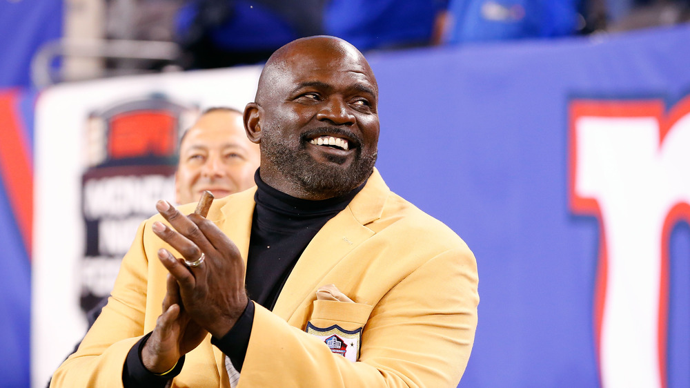 Lawrence Taylor in jacket