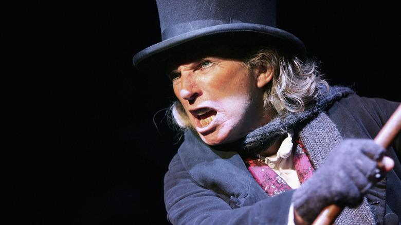 A Christmas Carol Scrooge actor
