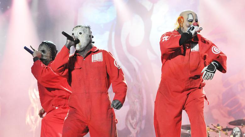 A few Slipknot  band members
