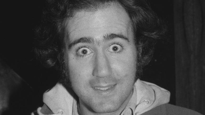 closeup of andy kaufman