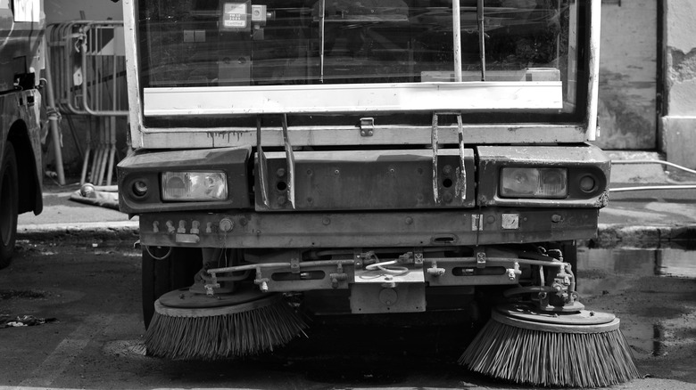 Italian garbage truck