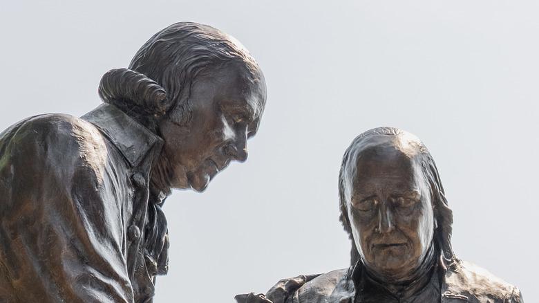 John Adams and Ben Franklin