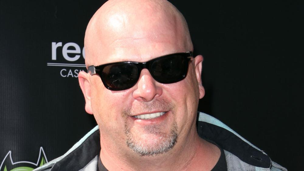 Pawn Star's Rick Harrison in sunglasses