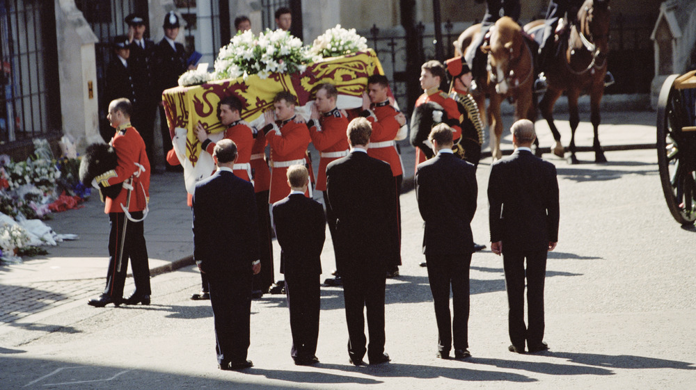 funeral of princess diana