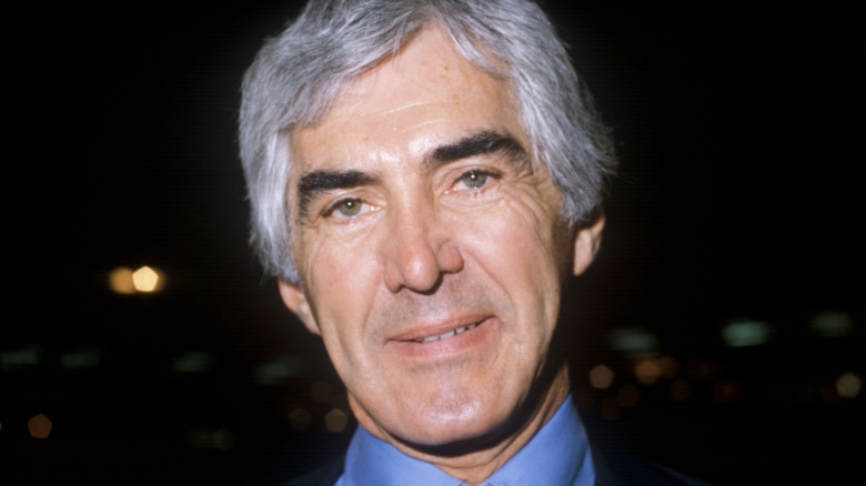 John DeLorean posing
