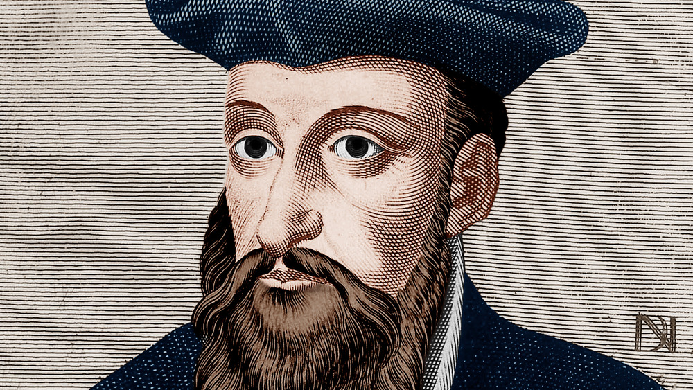 Portrait of Nostradmus