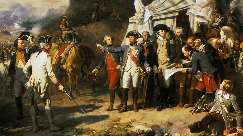 Battle of Yorktown horses