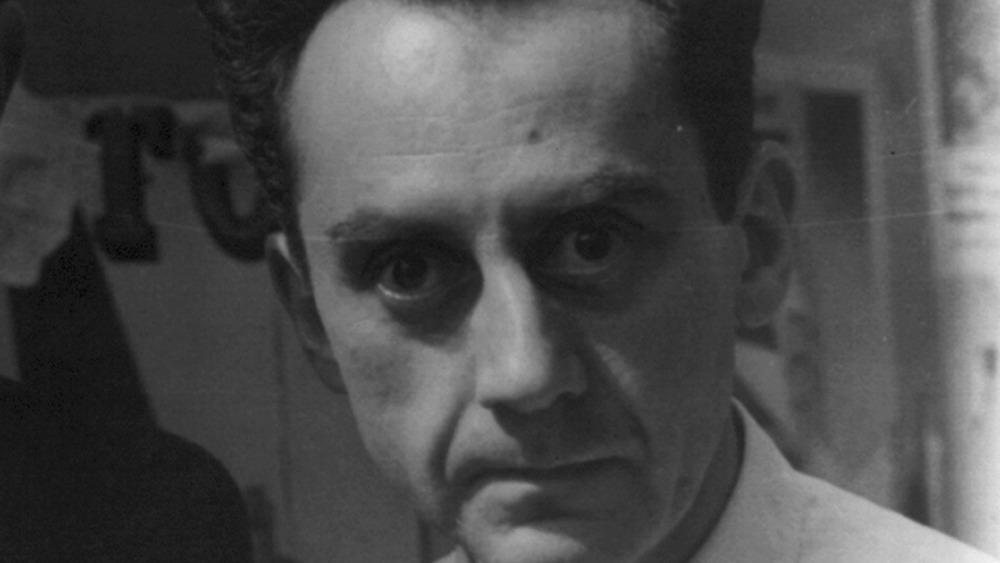 Surrealist artist Man Ray