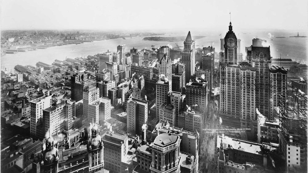 Lower Manhattan in 1913