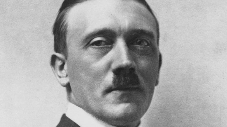 """Adolf Hitler delivering the """"Sieg Heil."""""""