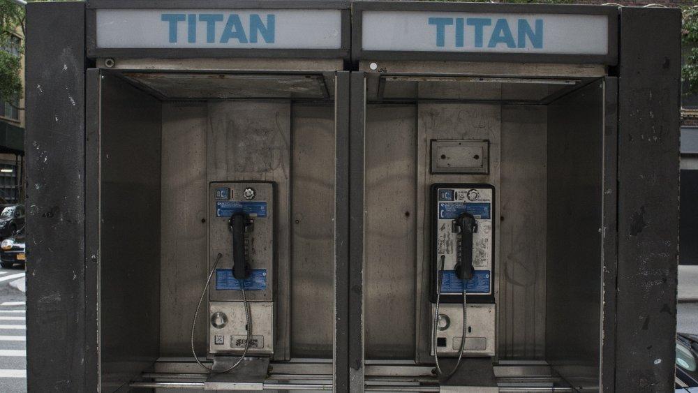 New York payphones