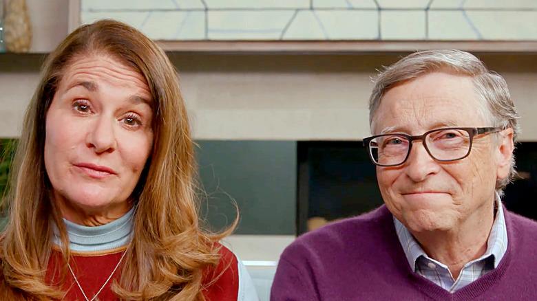 Билл и Мелинда Гейтс во время трансляции Global Citizen