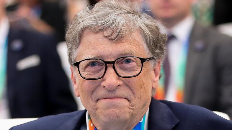 Billionaire philanthropist Bill Gates