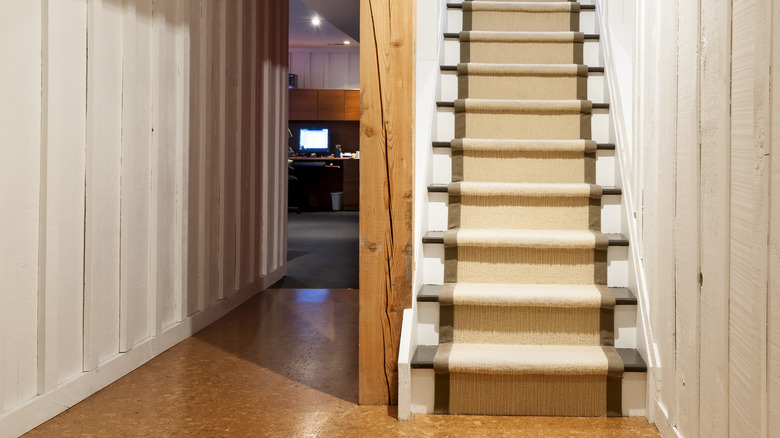 Staircase to a basement