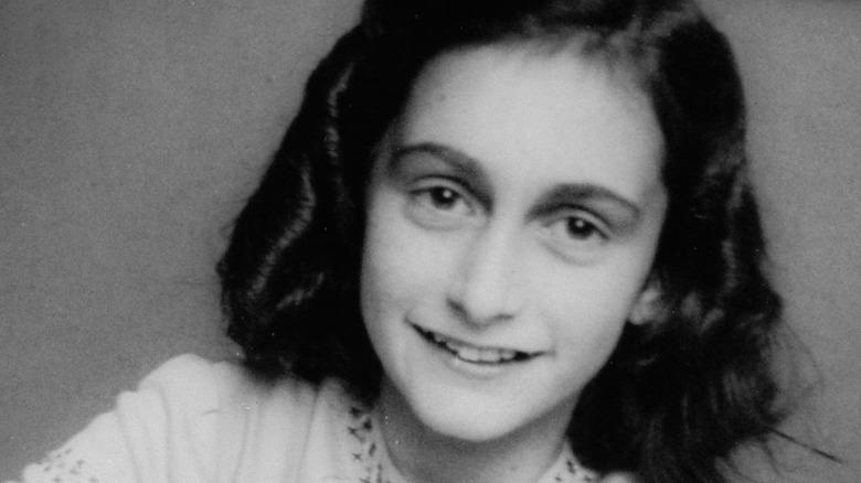 School photo of Anne Frank