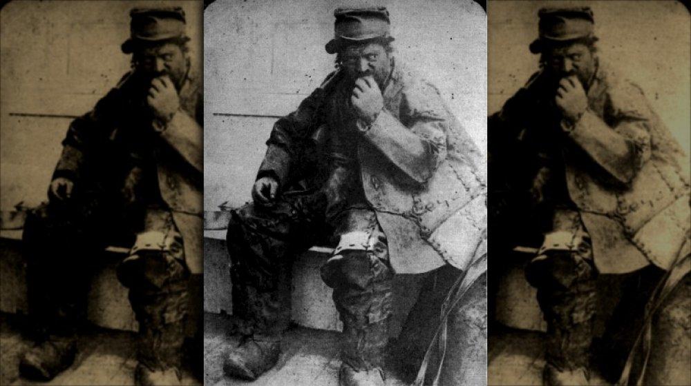 The Leatherman, circa 1885