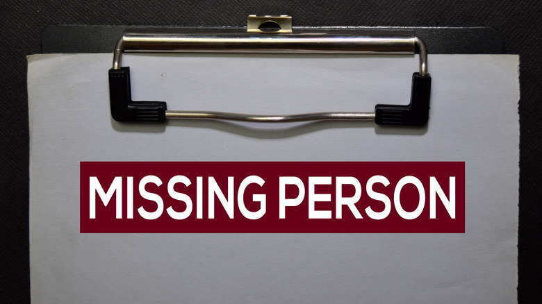 Clipboard reading Missing Person