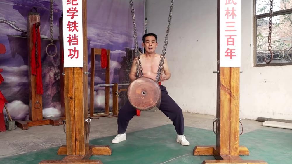 Wang Liutai, iron crotch master
