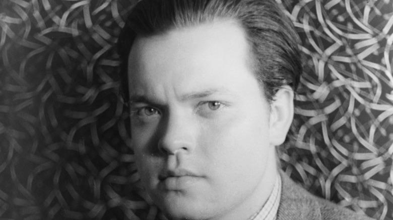 portrait of Orson Welles