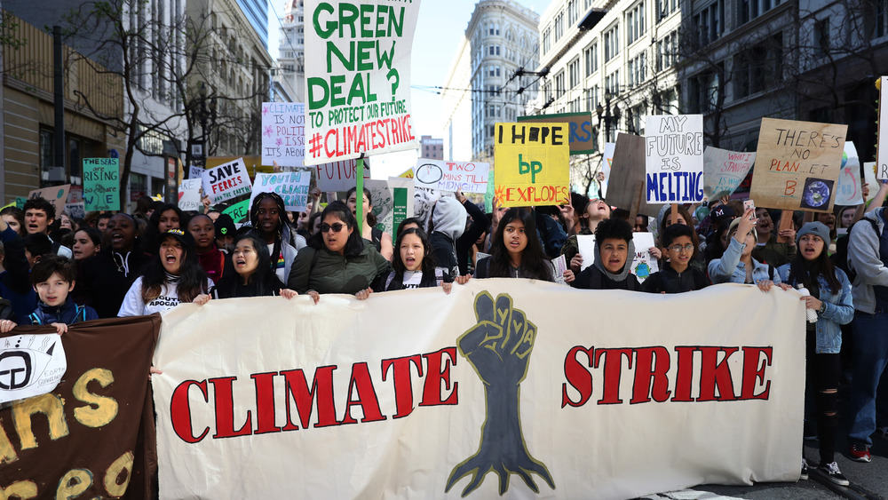Student protest climate strike