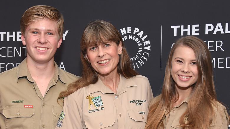 Robert, Terri, and Bindi Irwin