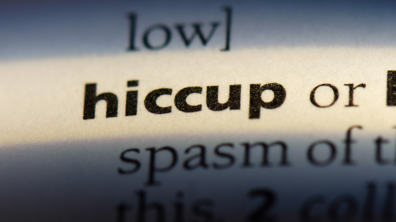 hiccup definition