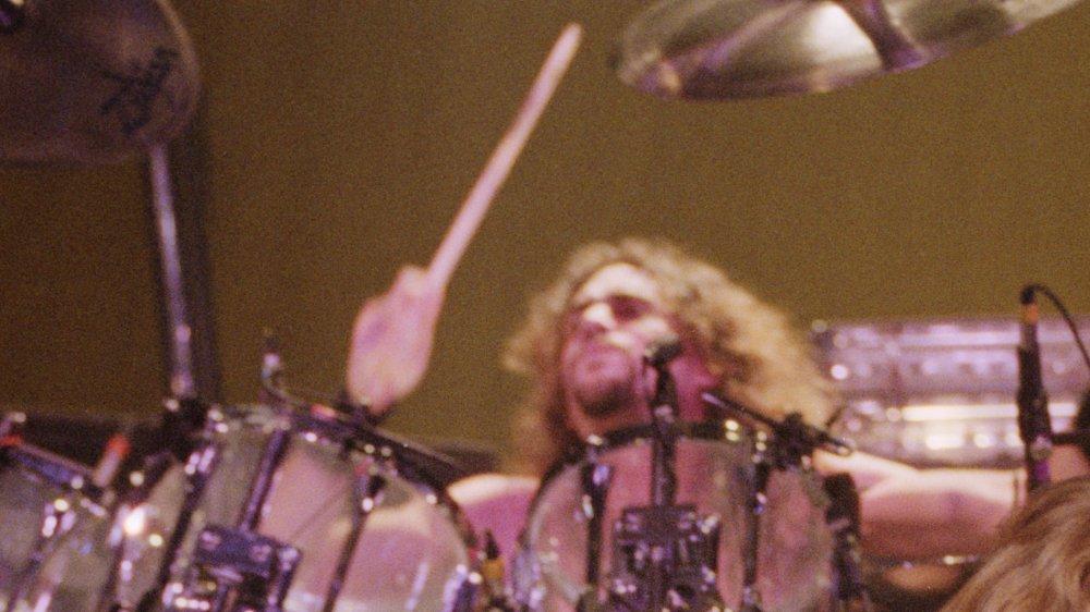 Megadeath drummer Nick Menza