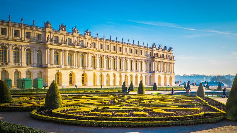 Palace of Versailles exterior view