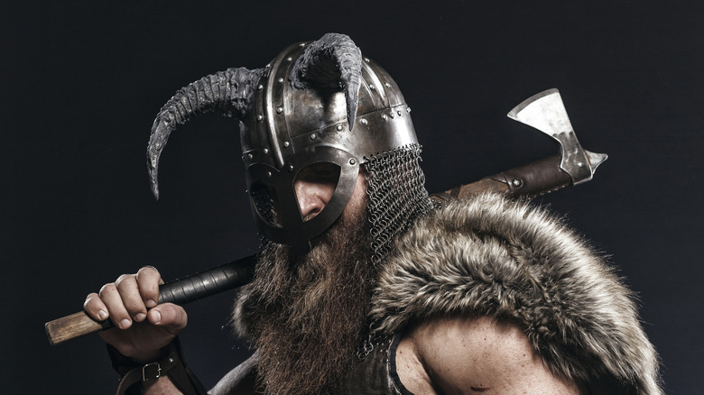 Viking with ax