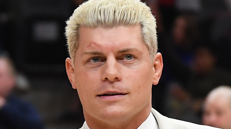 Cody Rhodes posing at event