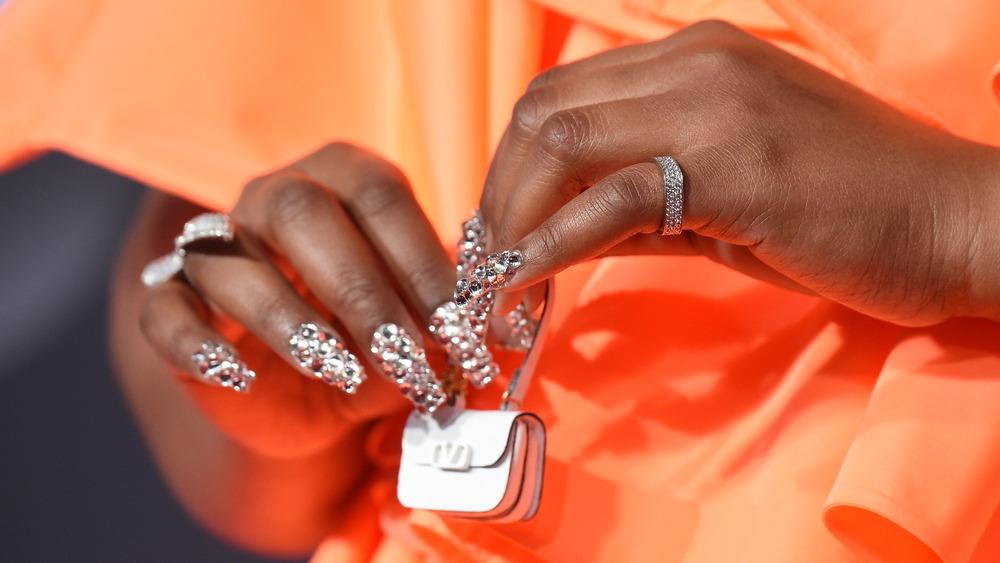 Lizzo's acrylic nails